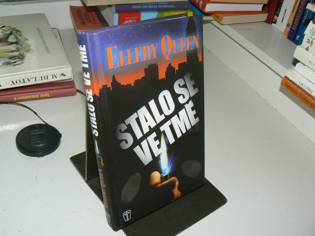 Stalo se ve tmě - Ellery Queen