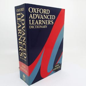 Oxford Advanced Learners Dictionary - ed. A. P. Cowie
