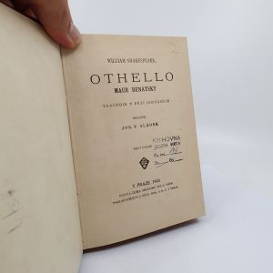 Othello - Maur benátský - William Shakespeare